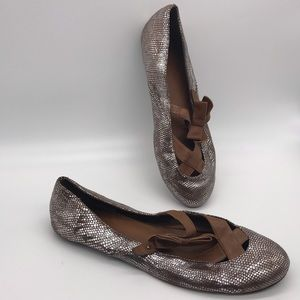 Anthropologie Lucky Penny Ballet Flats Size 9